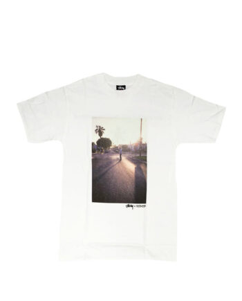 Stussy x Ripzinger White Sc Street Tee Limited Edition FCSC1901975