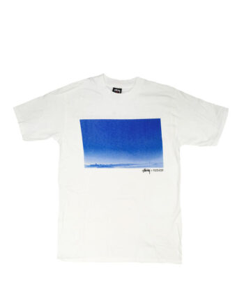 Stussy x Ripzinger White Sc Sf Landscape Tee Limited Edition FCSC1901916