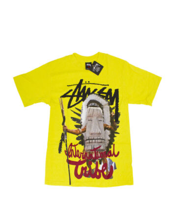 Stussy Yellow Totem Warrior Tee Limited Edition 1902144