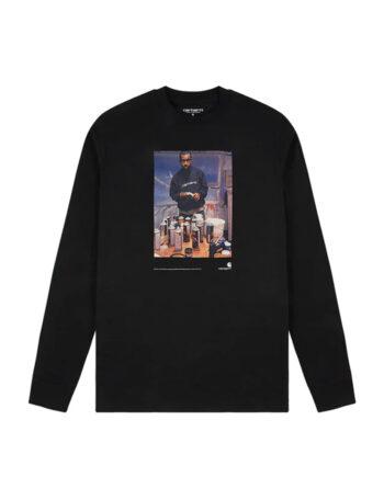 Carhartt Wip S/S L/S 1998 Ad Jay One T-Shirt Black I028503_89_00