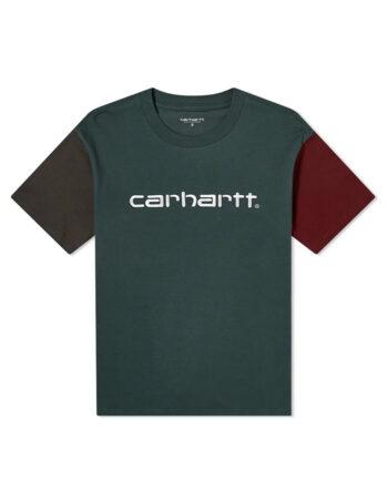 Carhartt Wip S/S Carhartt Tricol T-Shirt Dark Teal I028359_0F2_00