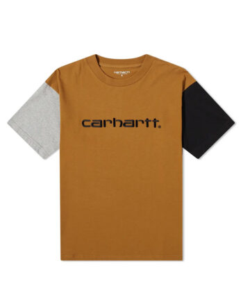Carhartt Wip S/S Carhartt Tricol T-Shirt Hamilton Brown I028359_HZ_00