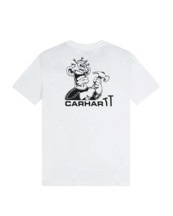 Carhartt Wip S/S Nails T-Shirt White I028495_02_90