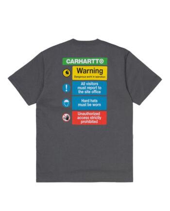 Carhartt Wip Warning T-Shirt Husky I028488_0F7_00