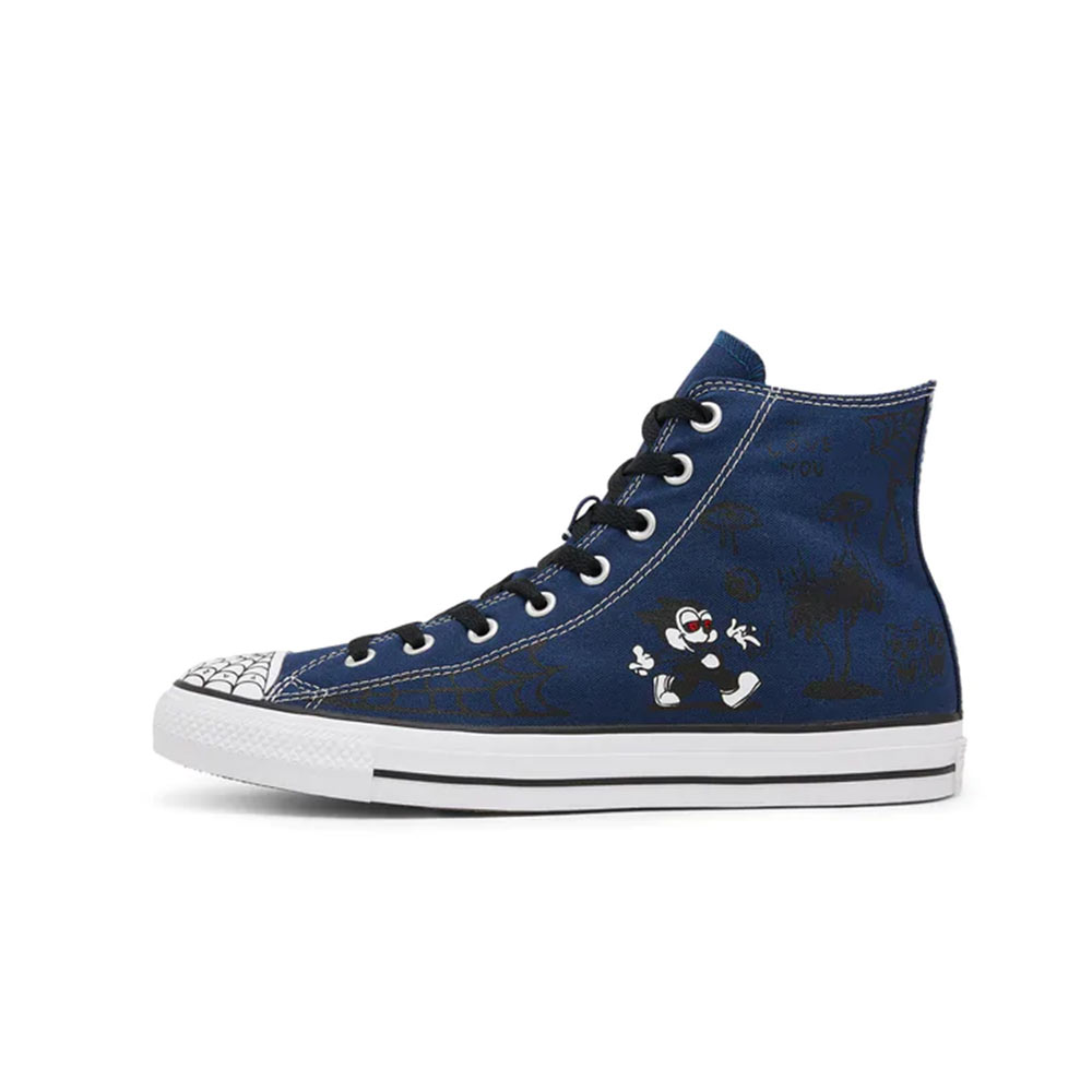 Converse Chuck Taylor All Star Sean Pablo Hi Black Scarpe