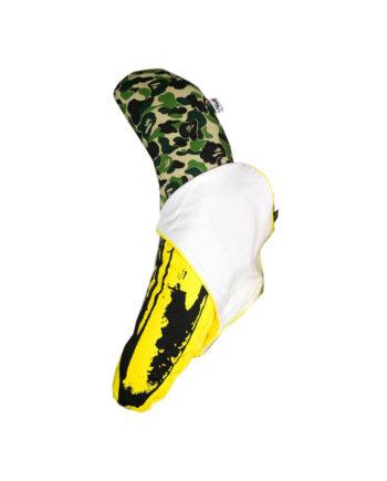 Medicom Toy Bape Andy Warhol Banana Plush Cushion Size L Verde-Green