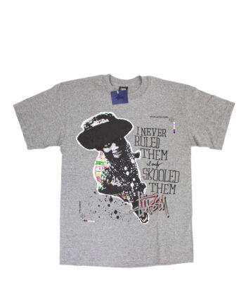 Stussy I Never Ruled Them If Only Skooled Them Grey Tee Limited Edition