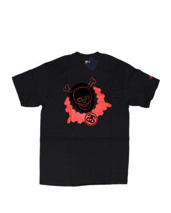 Stussy Skull Black Tee Limited Edition
