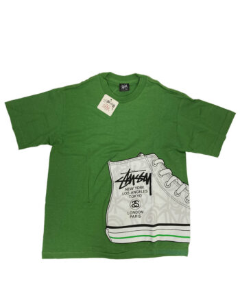 Stussy SS World Tour Chuck Taylor Green Tee 1901154