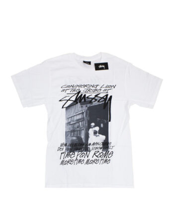 Stussy Tribe Of Stussy White Tee 190407