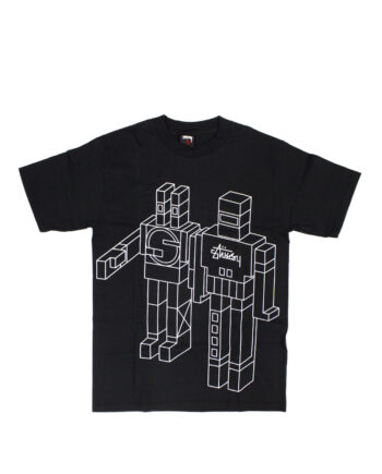 Stussy x Delta Giant Robot Black Tee Limited Edition 1901805