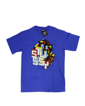 Stussy x Delta Rubic Blue Tee Limited Edition 1901822