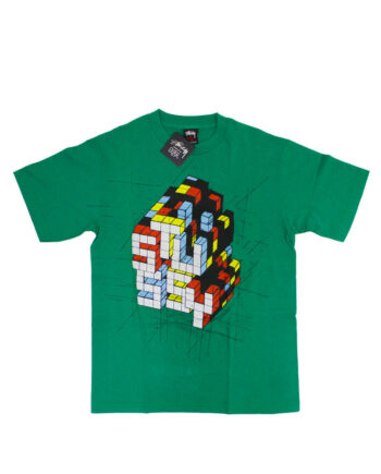 Stussy x Delta Rubic Green Tee Limited Edition 1901822