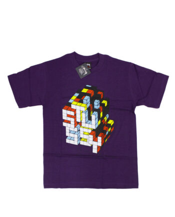 Stussy x Delta Rubic Violet Tee Limited Edition 1901822