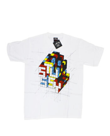 Stussy x Delta Rubic White Tee Limited Edition 1901822