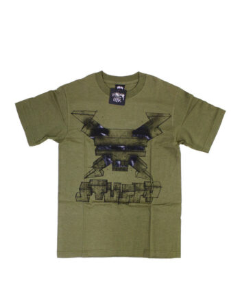 Stussy x Delta Warhead Military Green Tee Limited Edition 1901765
