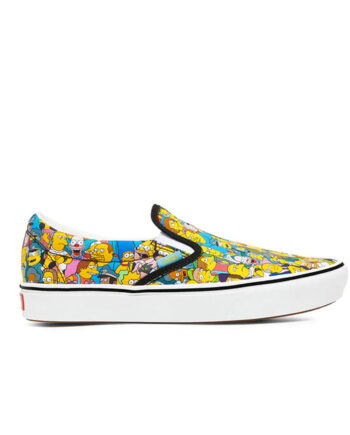 Vans x The Simpsons Comfycush Slip On (The Simpsons) Springfield VN0A3WMD1TJ