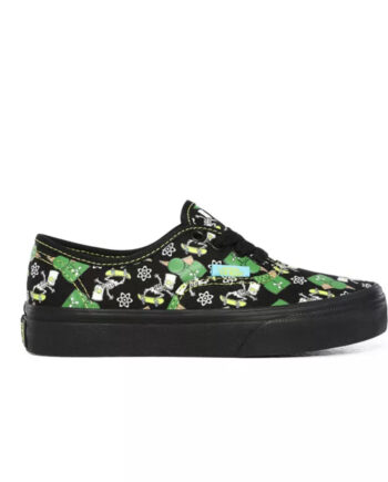 Vans x The Simpsons Glow Bart Authentic - Kids VN0A4UH30GY1