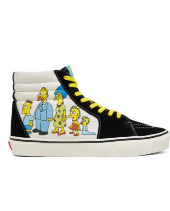 Vans x The Simpsons Sk8 HI (The Simpsons) 1987-2020 VN0A4BV617E1