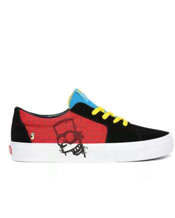 Vans x The Simpsons Sk8 Low (The Simpsons) El Barto VN0A4UUK17A1