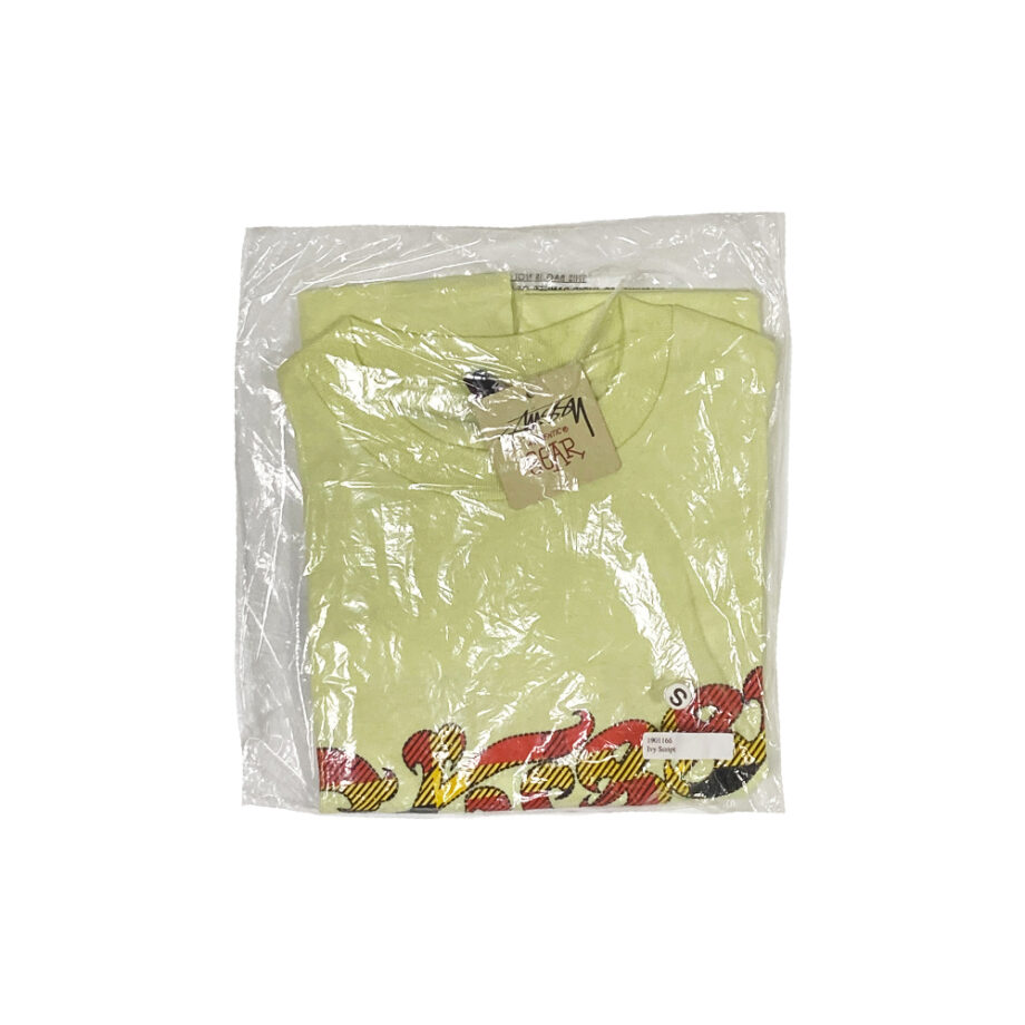 Stussy 80 Logo Yellow Tee Limited Edition