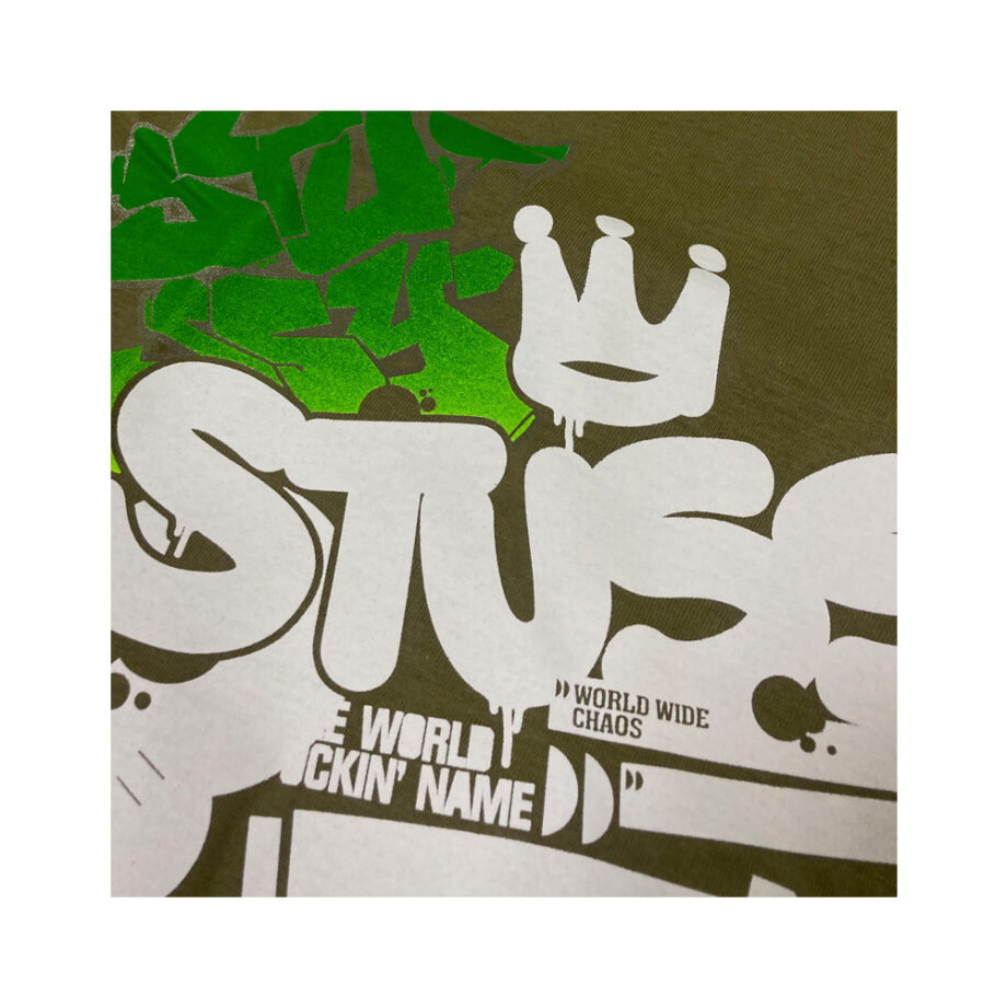 Stussy Graffiti Verdigris Tee Limited Edition