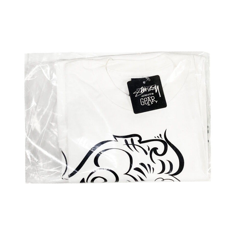 Stussy Lion White Tee Limited Edition