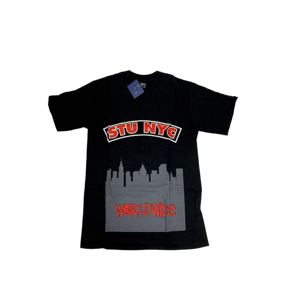 Stussy Stu Nyc Black Tee Limited Edition