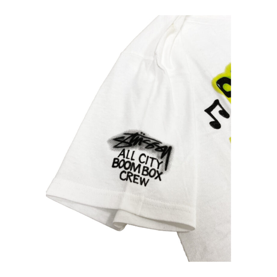 Stussy Time To Get Paid White Tee Limited Edition