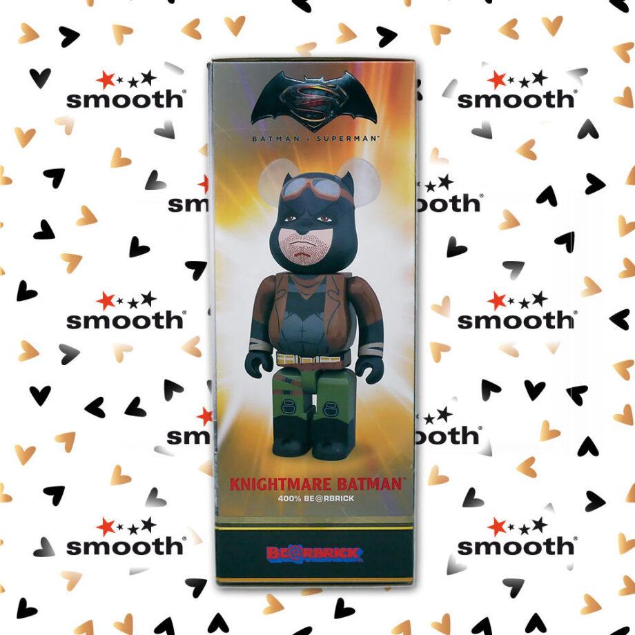 Medicom Toy Batman vs Superman Dawn Of Justice Knightmare Batman Bearbrick 400% 2016