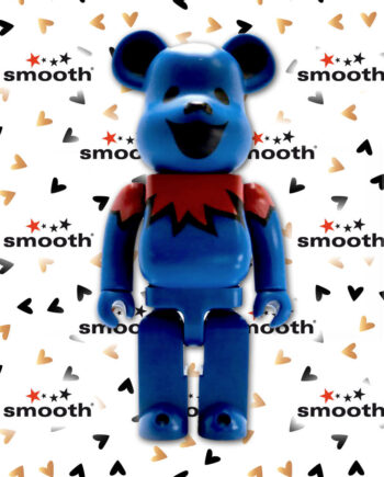 Medicom Toy Grateful Dead Dancing Bears Blue Bearbrick 400% 2015