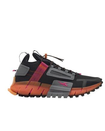 Reebok Zig Kinetica Edge - Black / Proud Pink / High Vis Orange FU8182