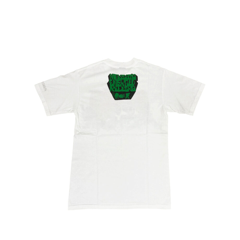 Stussy Customade x Todd James Majestic Emerald Killers Black Tee Limited Edition