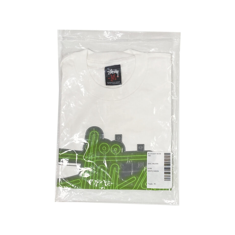 Stussy Customade Neon White Tee Limited Edition SDSC3901999
