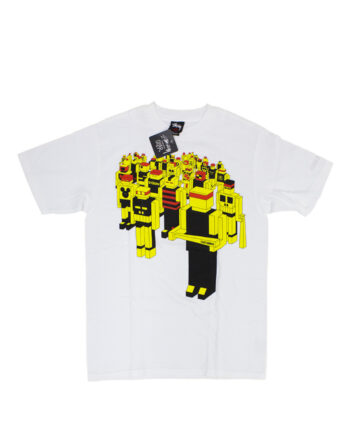 Stussy Customade x Delta Robot White Tee Limited Edition