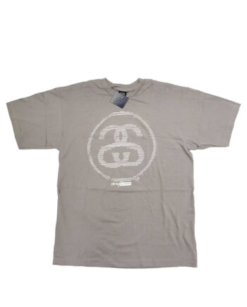 Stussy Grey Logo Tee Limited Edition