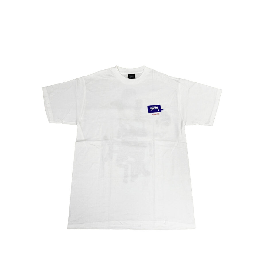 Stussy Can I Kick It White Tee Limited Edition