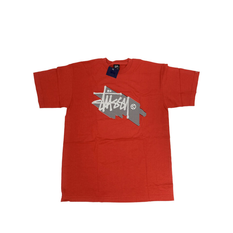 Stussy Logo Red Tee Limited Edition