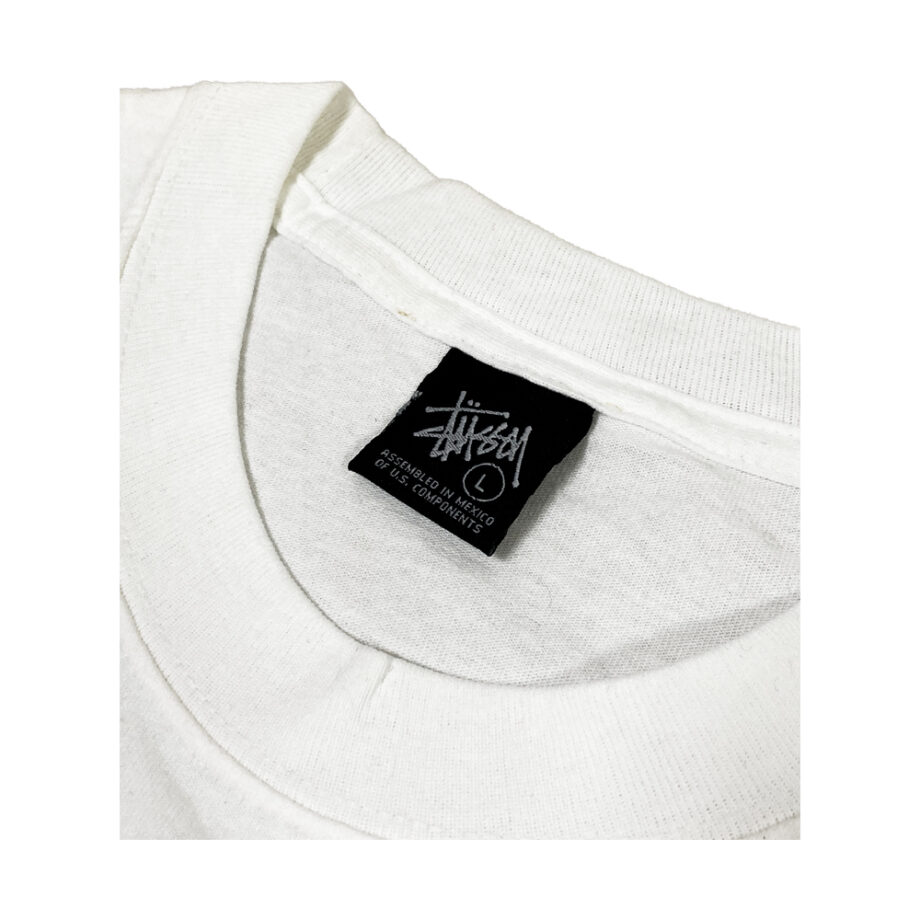 Stussy Positive White Tee Limited Edition