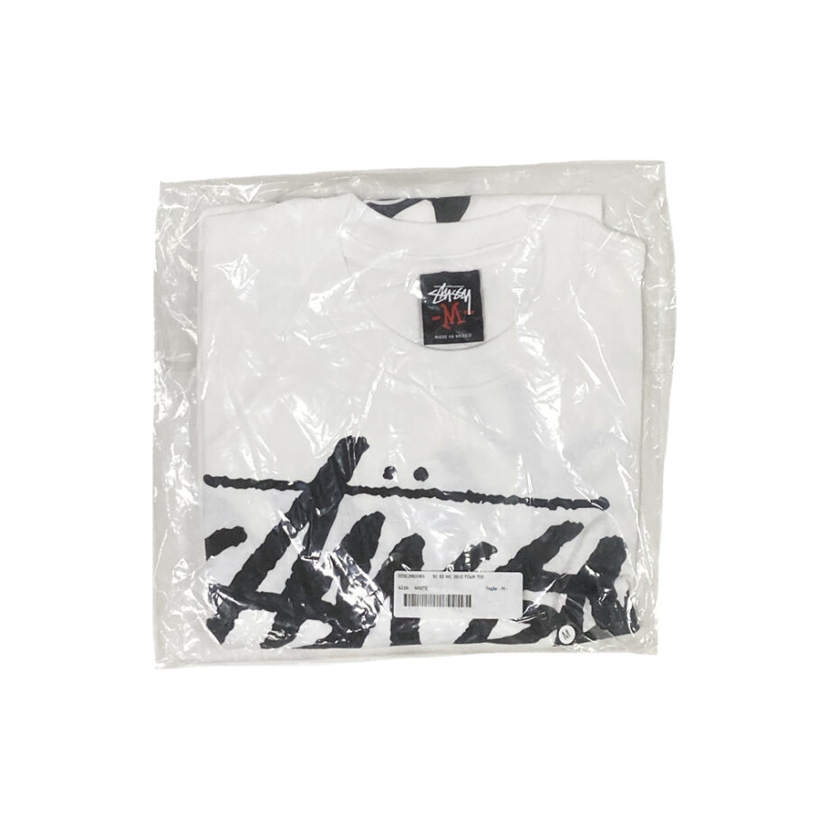 Stussy SC SS WC World Cup White Tee Limited Edition