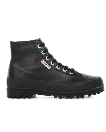 Superga Alpina Nappa Full Black 2341 S41188W