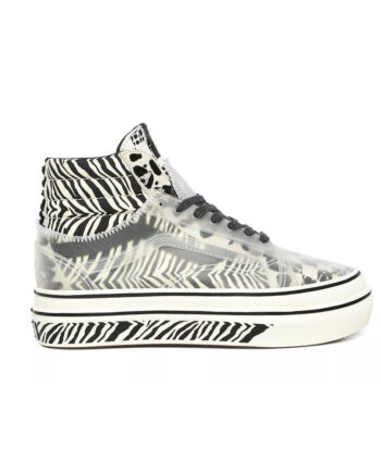 Vans Super ComfyCush Sk8 Hi Skool Mixed Media Marshmallow / Black VN0A4UVM26H1