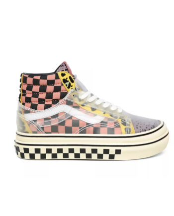 Vans Super ComfyCush Sk8 Hi Skool (Mixed Media) Multi / Antique VN0A4UVM26I