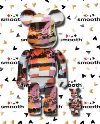 Medicom Toy Andy Warhol Last Supper Version Bearbrick Set 100% 400%