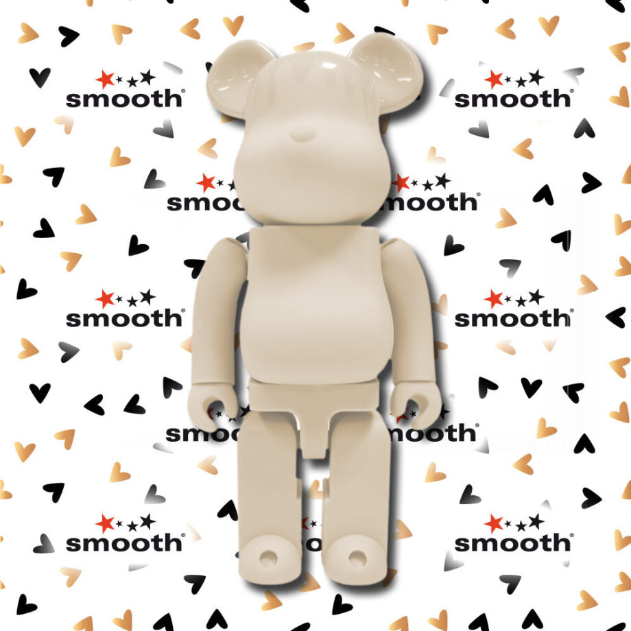 Medicom Toy Candle Ivory Bearbrick 400% Glow in the Dark Lamp 2013 Limited Edition