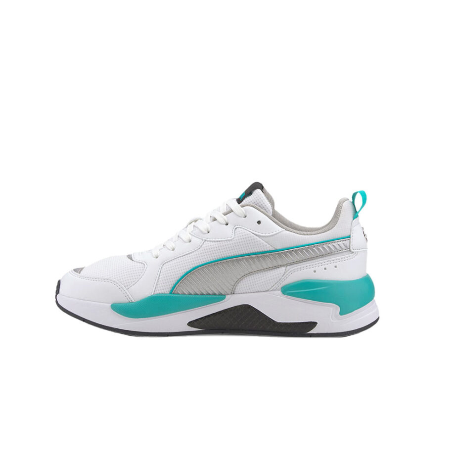 Puma Mercedes X-Ray P White-P Silver-P Black 306509-01