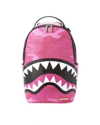 Sprayground Backpack Anime Camo Pink 910B3237NSZ