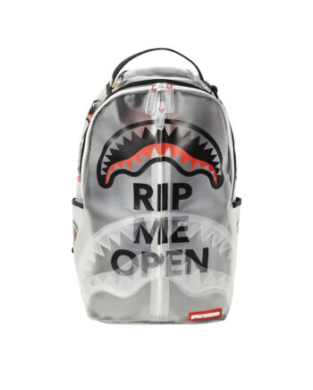 Sprayground Backpack Rip Me Open Transparent 910B2928NSZ
