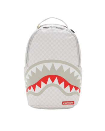 Sprayground Backpack Sharks of Paris Mean & Clean White 910B2947NSZ