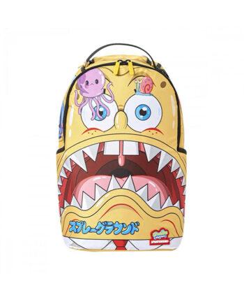 Sprayground Backpack Spongebob Japanime Light Yellow 910B2782NSZ